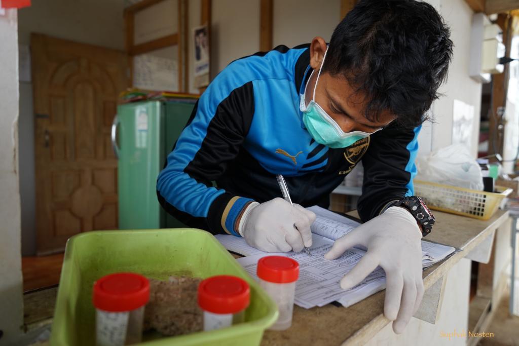 Careful registration of sputum samples collection at TB center
