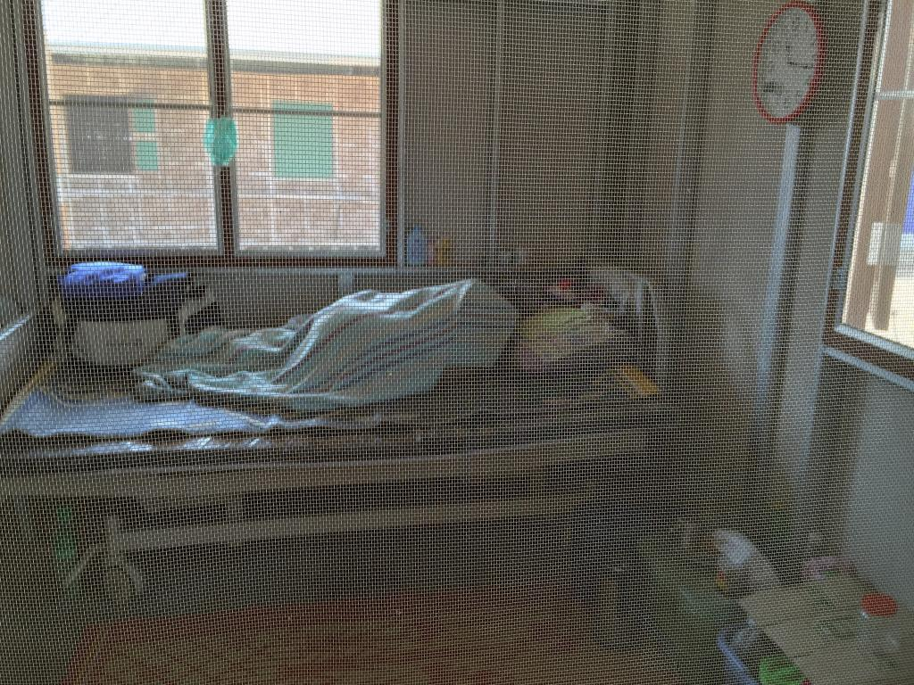 Severely ill Patient in Intensive Care Unit at TB center Wang Pha